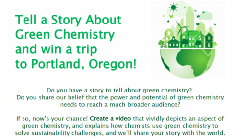 attention all postdoctoral graduate and undergraduate students do you have a story to tell about green chemistry do you share our belief that the power